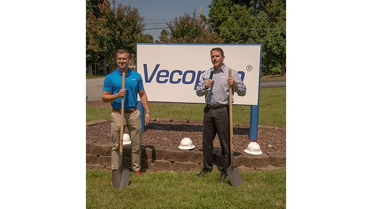 Vecoplan LLC breaks ground on shred truck plant expansion