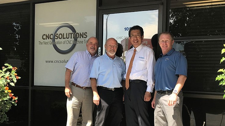 Kitamura Machinery adds CNC Solutions to dealer network