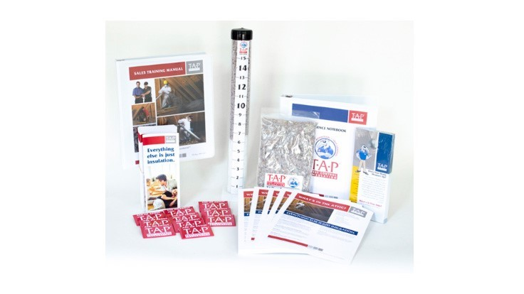 TAP Insulation Revamps PMP Sales Kit