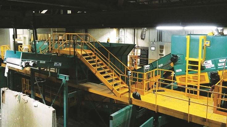 Inside Eureka Recycling's MRF upgrade