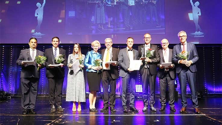 Stadler receives medium-sized enterprise award