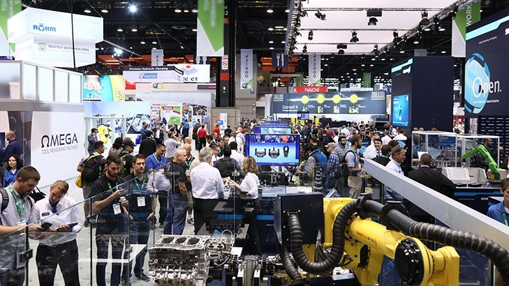 IMTS 2020: Digital Manufacturing. Implemented.