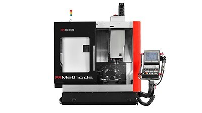 Methods Machine Tools' 3-axis, 5-axis machines