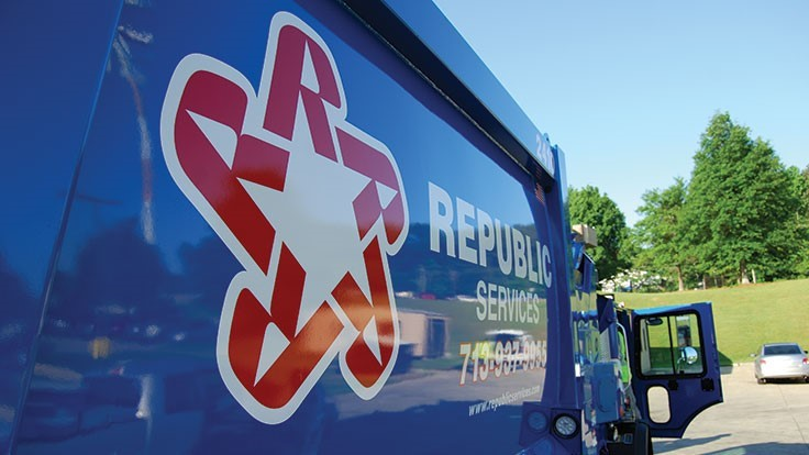 Republic Services sustainability goals backed by science