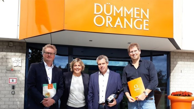 Dümmen Orange and Bremkens Orchids announce collaboration