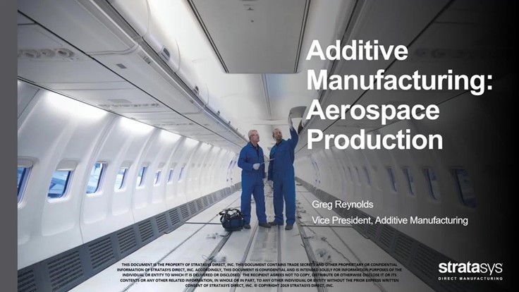 On-demand webinar: Taking Flight: 3D Printing Production Parts for Aircraft Interiors