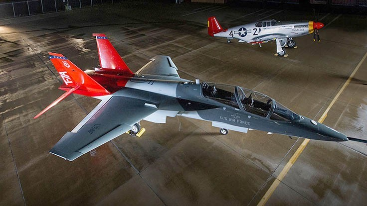 Air Force's advanced trainer honors Tuskegee Airmen
