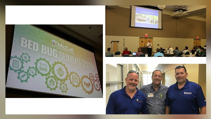 McCall Service Hosted 2019 North Florida Bedbug Summit