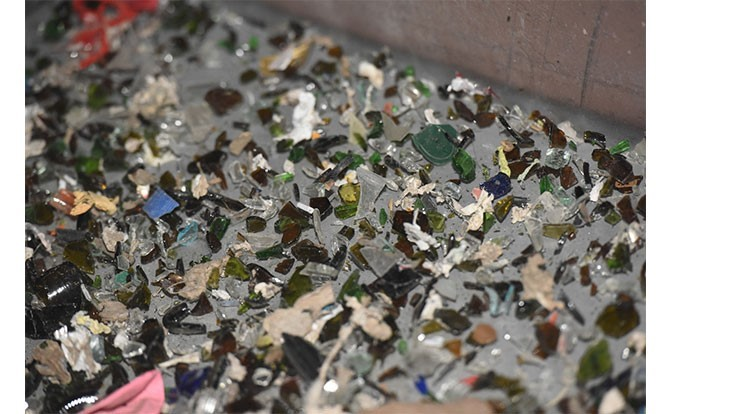 End of Waste partnership diverts 2 million pounds of glass from landfill