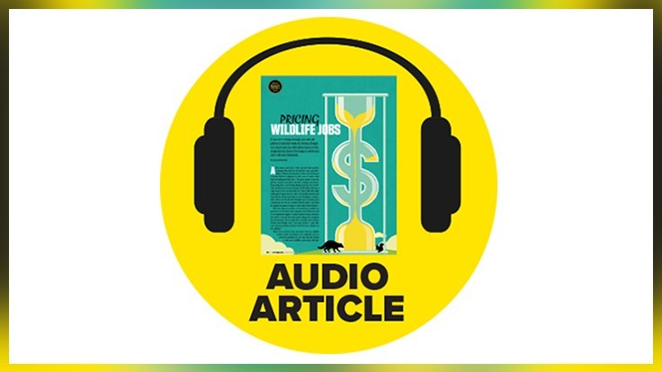 'Pricing Wildlife Jobs' Audio Recording