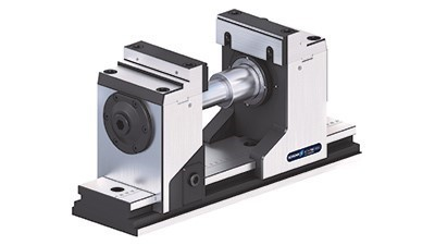 5-axis vise with adjustable center