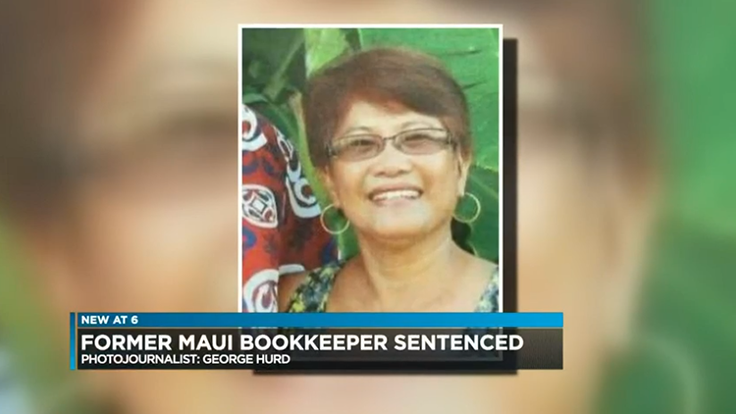 Ex-bookkeeper sentenced for stealing $1.3M from Maui plant nursery