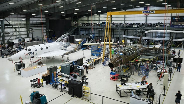 Boeing HorizonX Ventures to invest $20M in Virgin Galactic