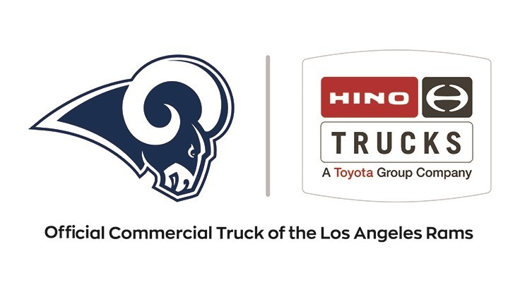 Hino announces partnership with Los Angeles Rams
