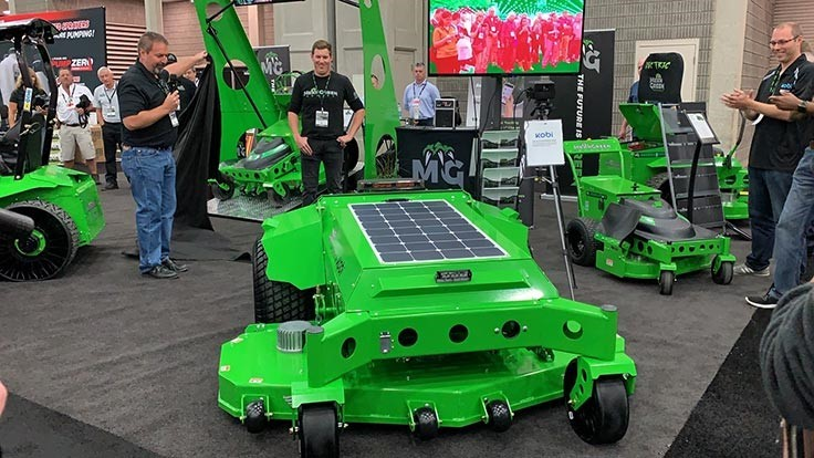 Mean Green goes robotic