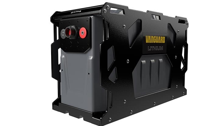 Vanguard launches battery system