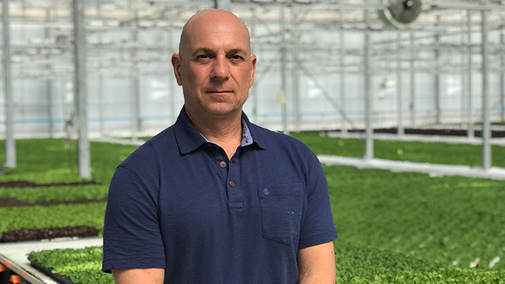 Tam Serage hired as Revolution Farms head grower