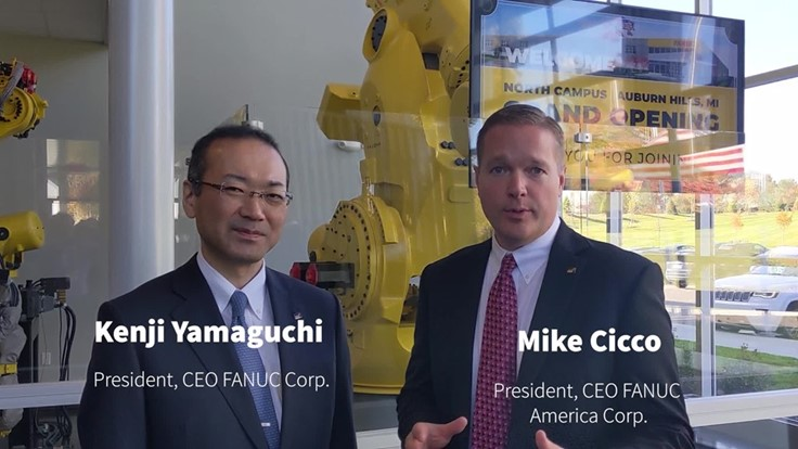 Fanuc America opens Michigan tech, manufacturing center (Video)
