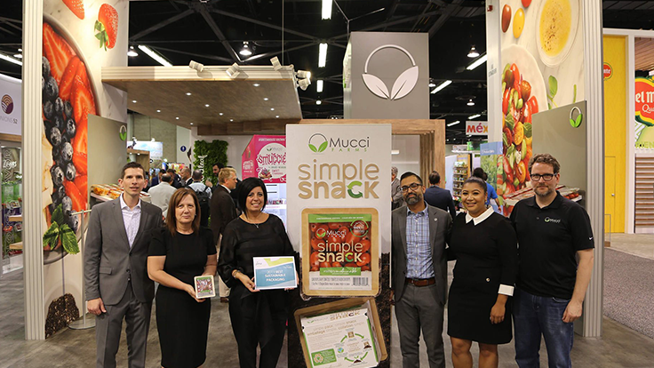 At Fresh Summit, Mucci Farms wins Best Sustainable Packaging Award