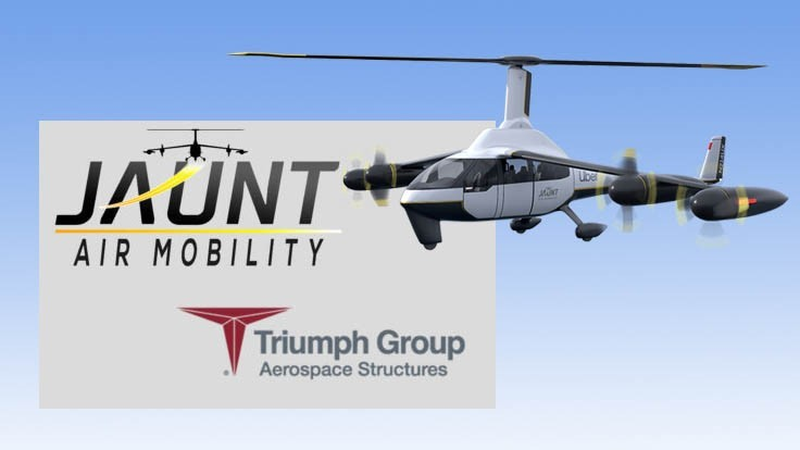 Jaunt Air Mobility picks Triumph for eVTOL engineering services