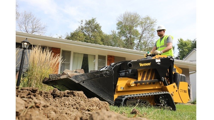 Vermeer launches CTX160 mini skid steer