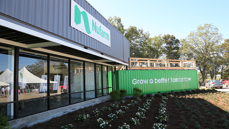 Nufarm opens new crop protection manufacturing facility