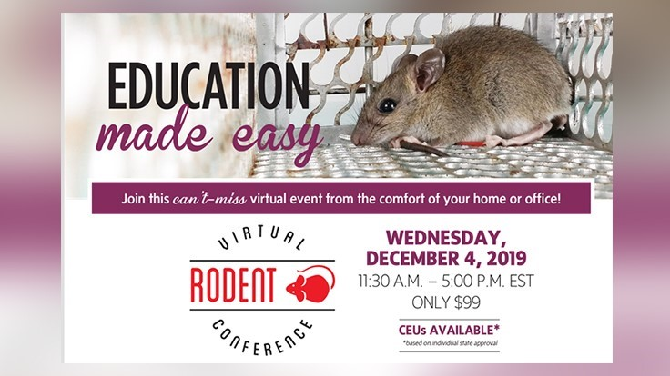 PCT Virtual Rodent Conference is Wednesday