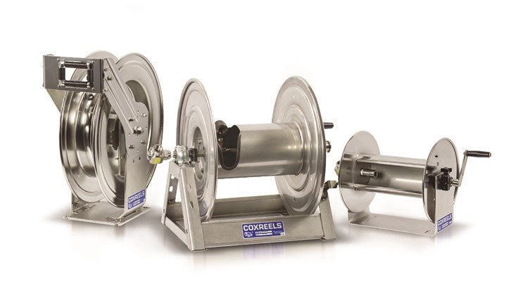 Coxreels Offers a Variety of Stainless Steel Choices
