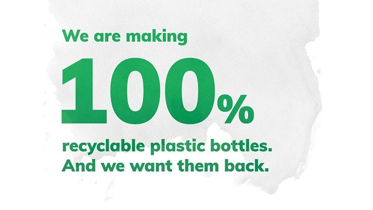 Sustainability alert: US beverage companies launch Every Bottle Back initiative