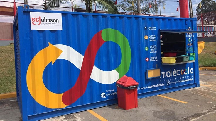 SC Johnson partners with Molecoola to increase recycling in Brazil
