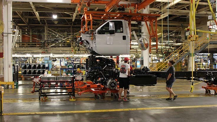 ford uaw contract includes investments  mostly for evs  in michigan  ohio  kentucky
