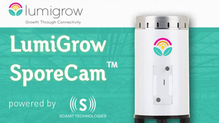 LumiGrow debuts early disease detection through Scanit Technologies partnership
