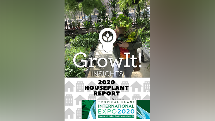 GrowIt! partners with TPIE to release 2020 Houseplant Report