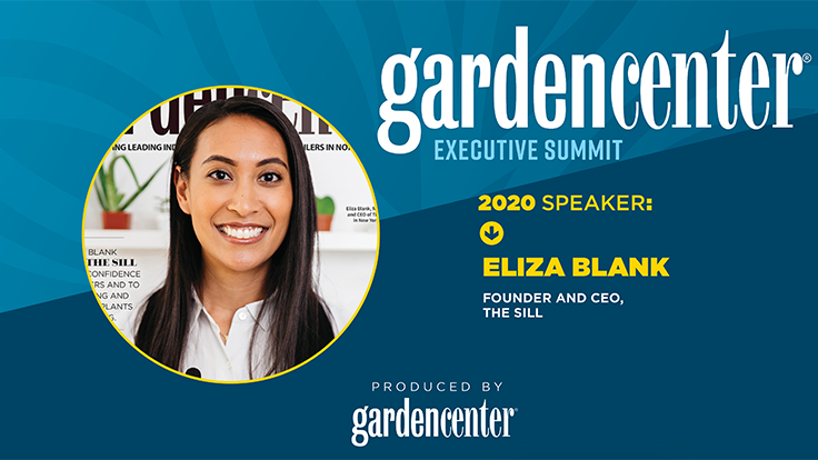 Eliza Blank of The Sill to keynote 2020 Garden Center Executive Summit