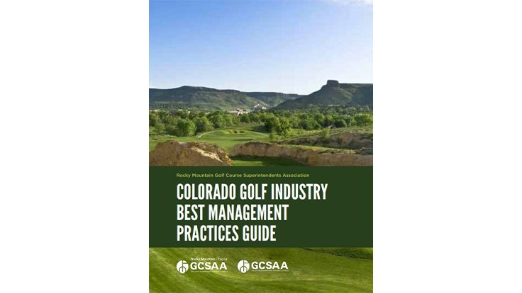 Rocky Mountain GCSA releases Colorado Golf Industry Best Management Practices Guide