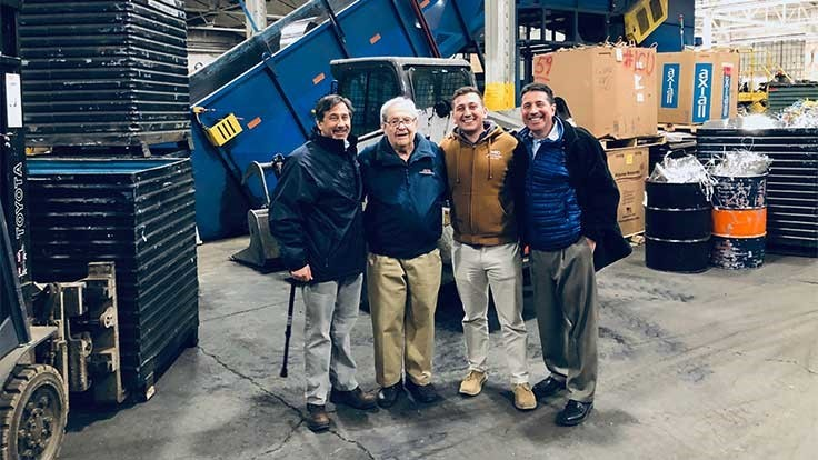 Connecticut scrap yard receives Connecticut Family Business Award