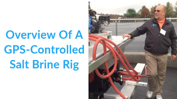 Overview Of A GPS-Controlled Salt Brine Rig