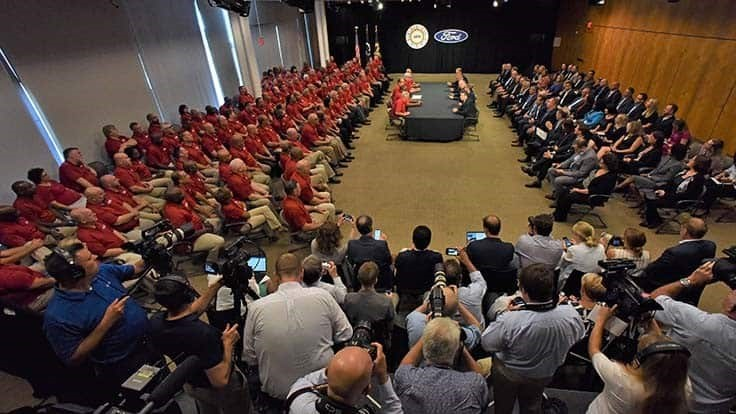 UAW workers ratify contracts with Ford, Detroit Axle, General Dynamics