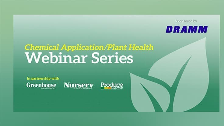 Sponsored: Chemical Application/Plant Health Webinar: Disinfecting Your Greenhouse