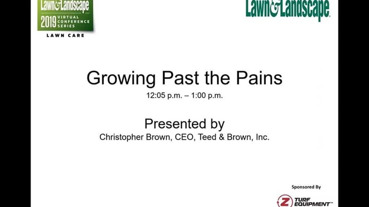 Growing past the pains