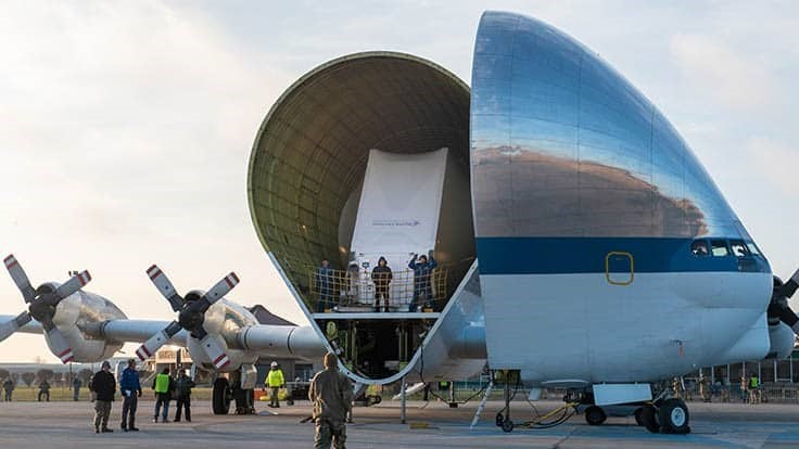 Orion spacecraft arrives in Ohio for testing