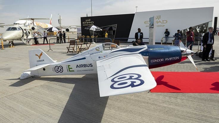First electric race plane set to compete in Air Race E
