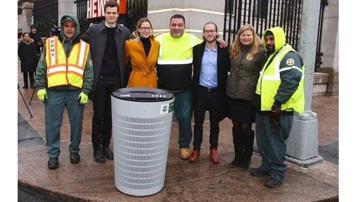 DSNY announces winner of city's waste basket design competition