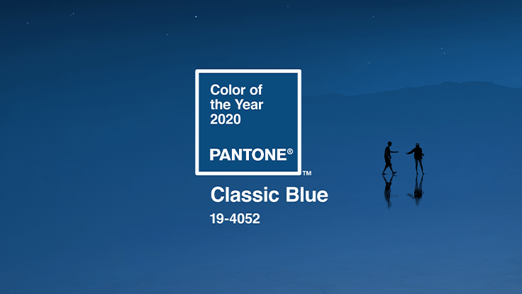 Classic Blue named 2020 Pantone Color of the Year