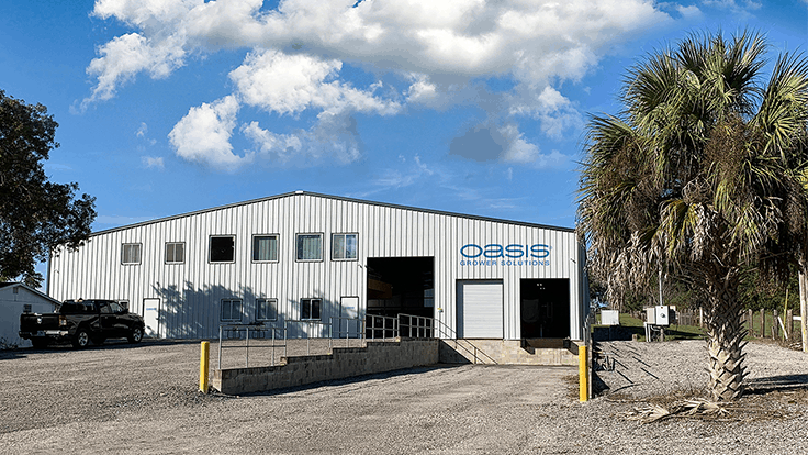 OASIS Grower Solutions moves Florida manufacturing facility to new location