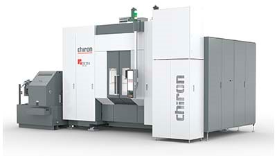 Vertical machining center for large components