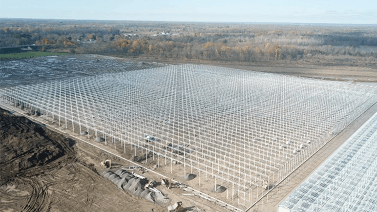 New Mastronardi Produce greenhouse will total almost 3 million square feet