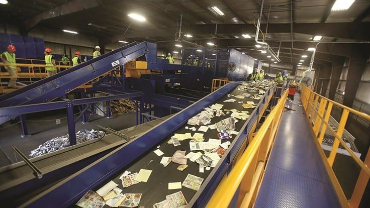 How Area Recycling helped curb contamination through new sorting technology