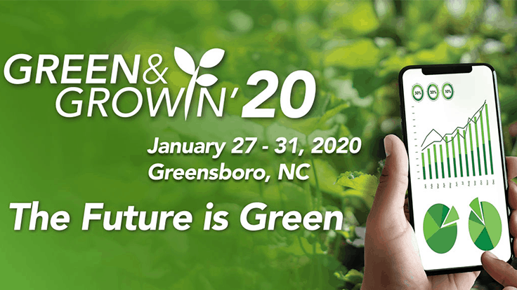 Green & Growin' 20 kicks off later this month in Greensboro, North Carolina
