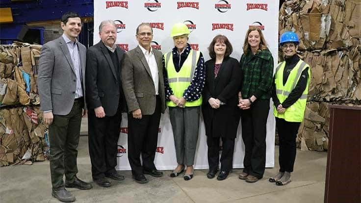 Rumpke opens new Ohio recycling center
